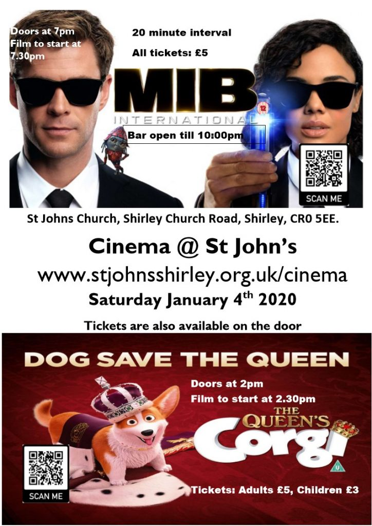 January 2020 cinema poster